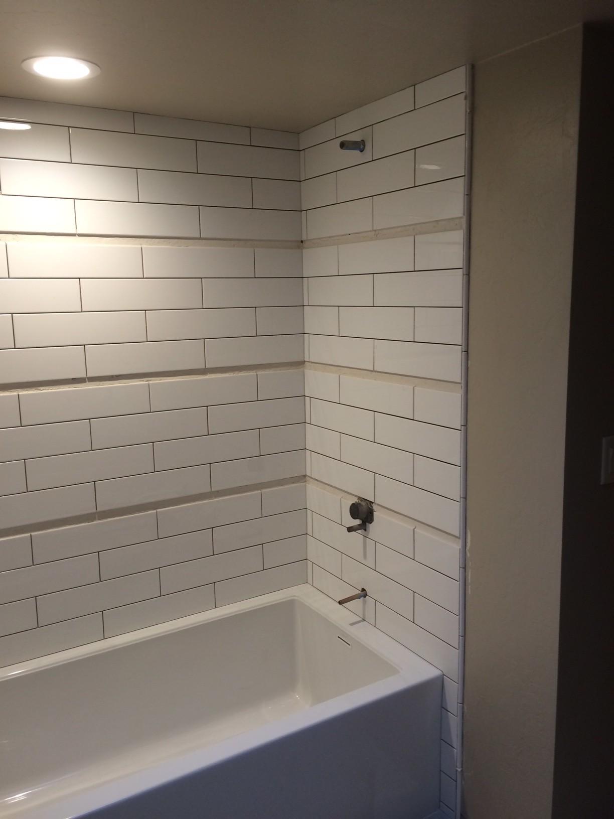 Milestone Homes » 8_21_15 hall bath tub & tile